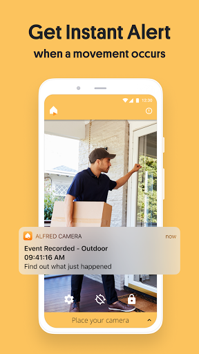 Alfred Home Security Camera: Baby Monitor & Webcam android2mod screenshots 3