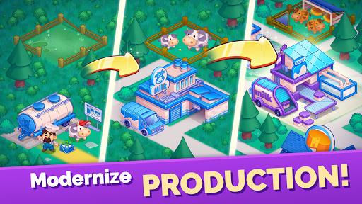 Mega Farm u2014 Idle Tycoon Clicker & Merge Simulator  screenshots 7