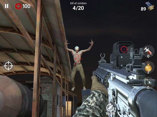 Dead Fire: Zombie shooting apktram screenshots 17