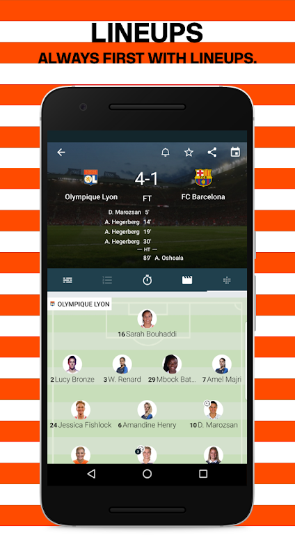 Forza Football - Live soccer scores  poster 2