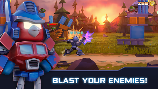 Angry Birds Transformers MOD APK [Unlimited Money/Coins/Unlocked] 1