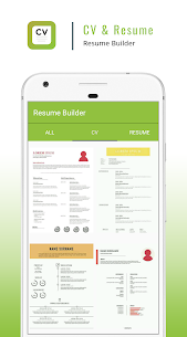 Resume Builder App – CV Maker & Resume Creator 2.3 Mod + APK (Data) Latest 1