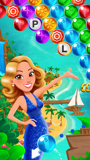 Bubble Pop: Wheel of Fortune! Puzzle Word Shooter  screenshots 1