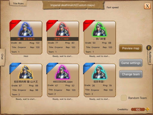 War of Empire Conquestuff1a3v3 Arena Game android2mod screenshots 16
