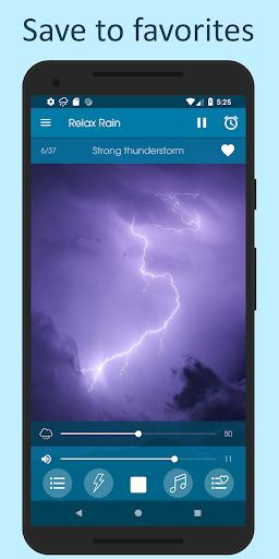 Relax Rain - Rain sounds: sleep and meditation android2mod screenshots 6