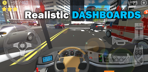 Télécharger City Bus Driver Legend : Bus Simulator APK MOD (Astuce) screenshots 1