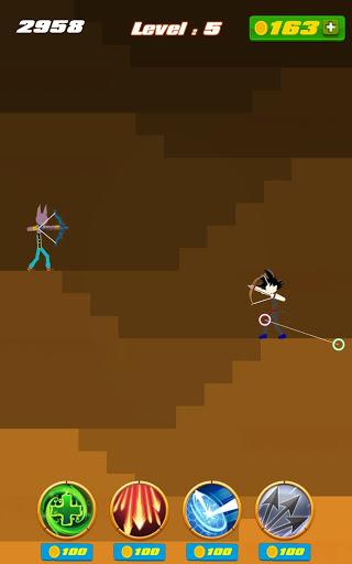 stickman archer - dragon legends offline screenshot 2