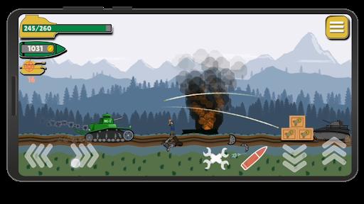 Tank Battle War 2d: game free 1.0.4.3 screenshots 5