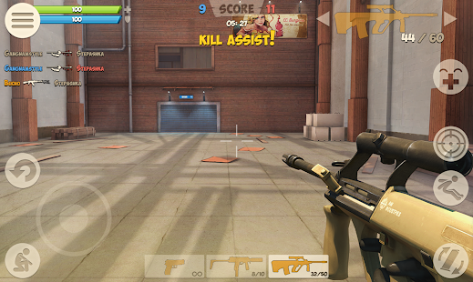 Contra City - Online Shooter (3D FPS) Screenshot