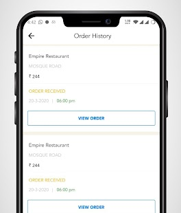 Hotel Empire -Food Order & Delivery Screenshot