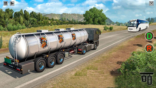 Indian Oil Tanker Cargo Truck Game apkpoly screenshots 2