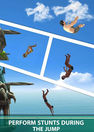 Cliff Flip Diving 3D - Swimming Pool Flip Master screenshots 2