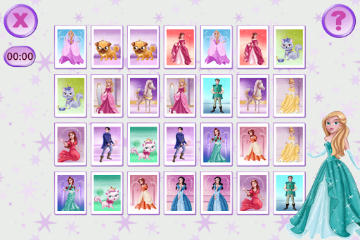 Princess Pairs for Girls Free apktreat screenshots 2