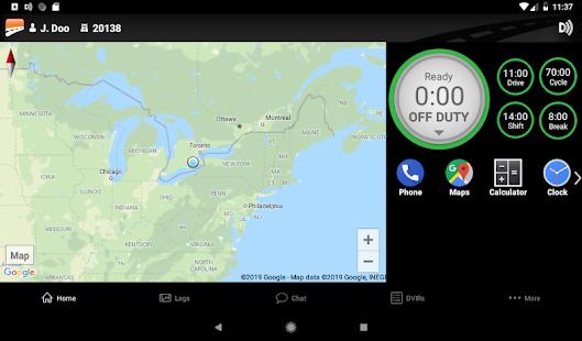 BigRoad Trucking Logbook App
