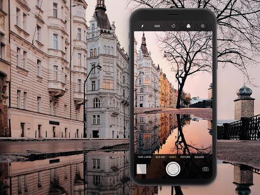 iCamera Plus - a pro camera style like OS12  Screenshots 1