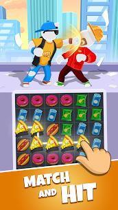Match Hit Mod Apk- Puzzle Fighter (God Mode) 1