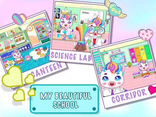 Mini Town: Unicorn School modavailable screenshots 3