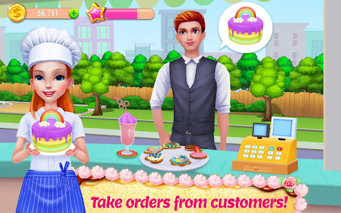 My Bakery Empire - Bake, Decorate & Serve Cakes apk