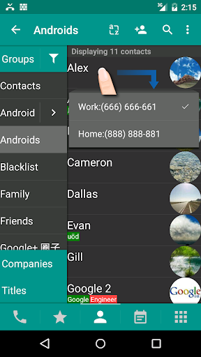 DW Contacts & Phone & SMS  screen 2