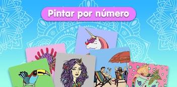 Jugar a Pintar por número - Libro de colorear gratis gratis en la PC, así es como funciona!
