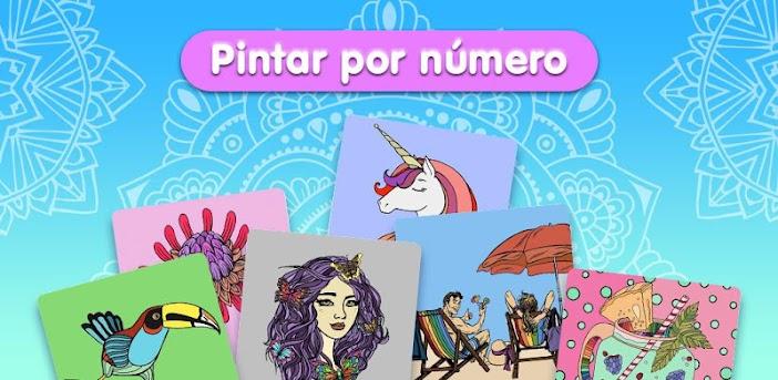 Pintar por número - Libro de colorear gratis