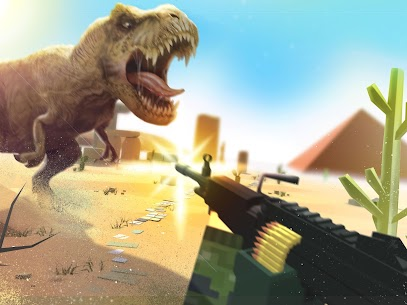 Dino Gun 3D: jurassic survival shooter Game Hack Android and iOS 4