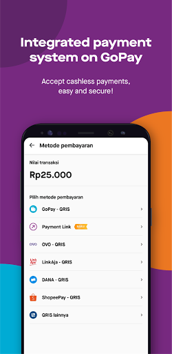 GoBiz - Merchant App - GoFood, GoKasir, GoPay android2mod screenshots 3