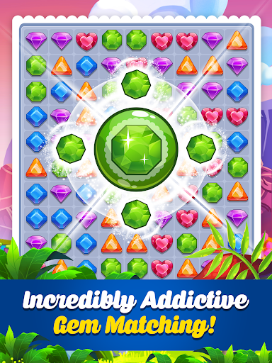 Addictive Gem Match 3 - Free Games With Bonuses  screenshots 12