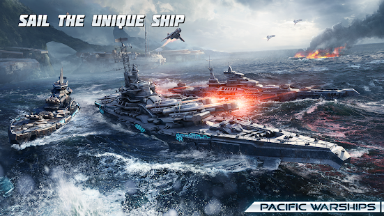 Pacific Warships: Naval PvP apk