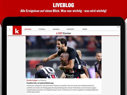 kicker Fußball News  screenshots 12