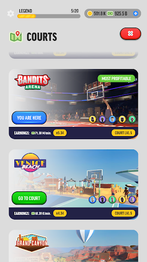 Basketball Legends Tycoon - Idle Sports Manager  screenshots 23