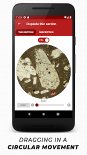 Virtual Microscope - Minerals. Geology Toolkit