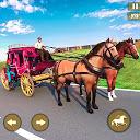 Farm Horse Cargo Cart Transport Offroad Taxi Games