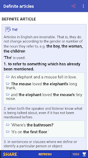 English Grammar in Use and Test Full Screenshot