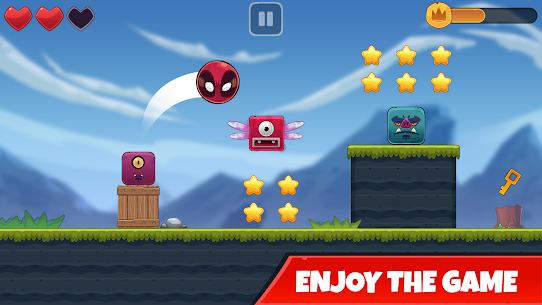 Red Bounce Ball: Jumping and Roller Ball Adventure 5