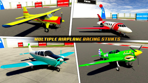 Plane Stunts 3D : Impossible Tracks Stunt Games apkmr screenshots 5