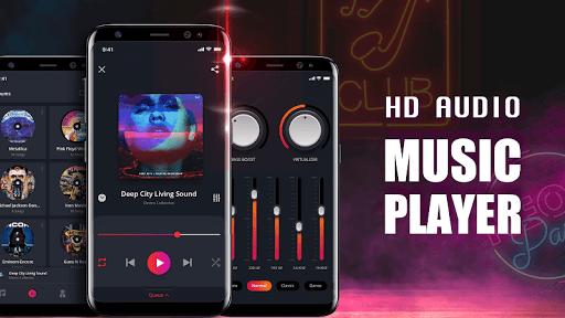 Music Player - Mp4 & MP3 Player, Video player apktram screenshots 1