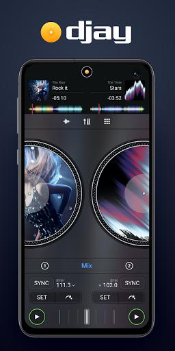 djay - DJ App & Mixer  Screenshots 1