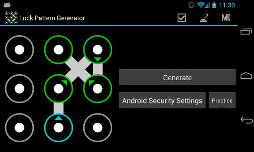 Lock Pattern Generator ss2