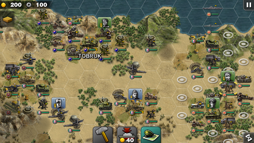 Glory of Generals-WW2 frontline War Strategy Game 1.2.12 Screenshots 18