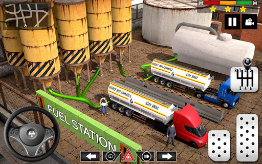 Cargo Delivery Truck Parking Simulator Games 2020  screenshots 7