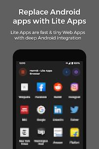 Hermit – Lite Apps Browser 1