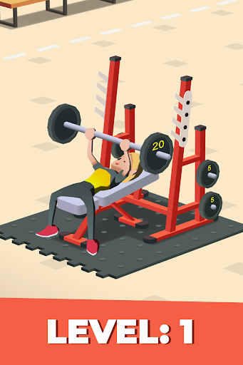 Idle Fitness Gym Tycoon - Workout Simulator Game 1.6.0 screenshots 1