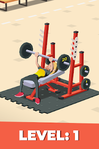 Idle Fitness Gym Tycoon – Workout Simulator Game Mod 1.6.0 Apk [Unlimited Money] 1
