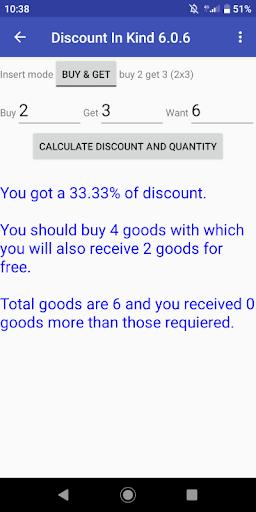 Discount In Kind 8.0 screenshots 1