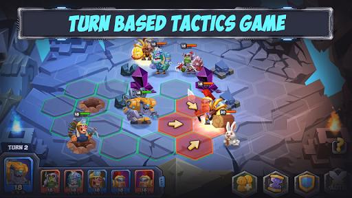 Tactical Monsters Rumble Arena -Tactics & Strategy screenshots 17