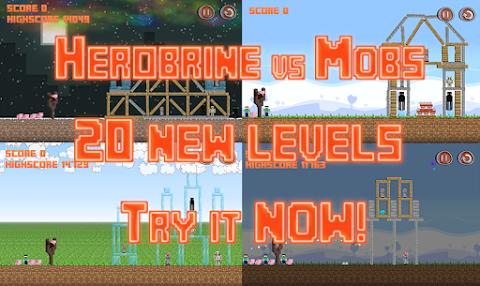 Herobrine vs Mob Craft PE Freeのおすすめ画像4