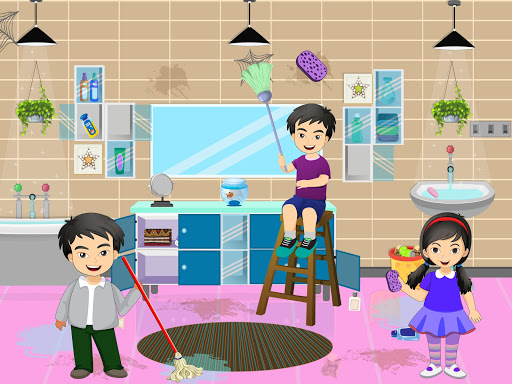 Pretend Play Hotel Cleaning: Doll House Fun 1.1.5 screenshots 6