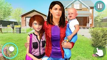 New Baby Single Mom Family Adventure