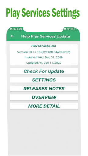 Play Services Errors Help 2021-Fix Play Store Info 1.0.2 screenshots 6
